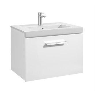 Mueble 60cm un cajón blanco Prisma Roca