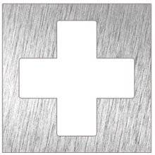 Señal color blanco enfermería NOFER