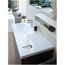 Lavabo asimétrico izq para mueble 125 P3 Comforts Duravit