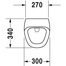 Urinario electrónico pila Durastyle DURAVIT