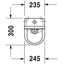 Urinario Starck 3 alimentación superior 30 DURAVIT