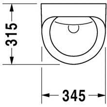 Urinario electrónico corriente Utronic DURAVIT