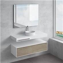 Conjunto encimera+lavabo BALAVU ACIS NATUGAMA
