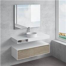 Conjunto encimera+lavabo ACIS cajón NATUGAMA