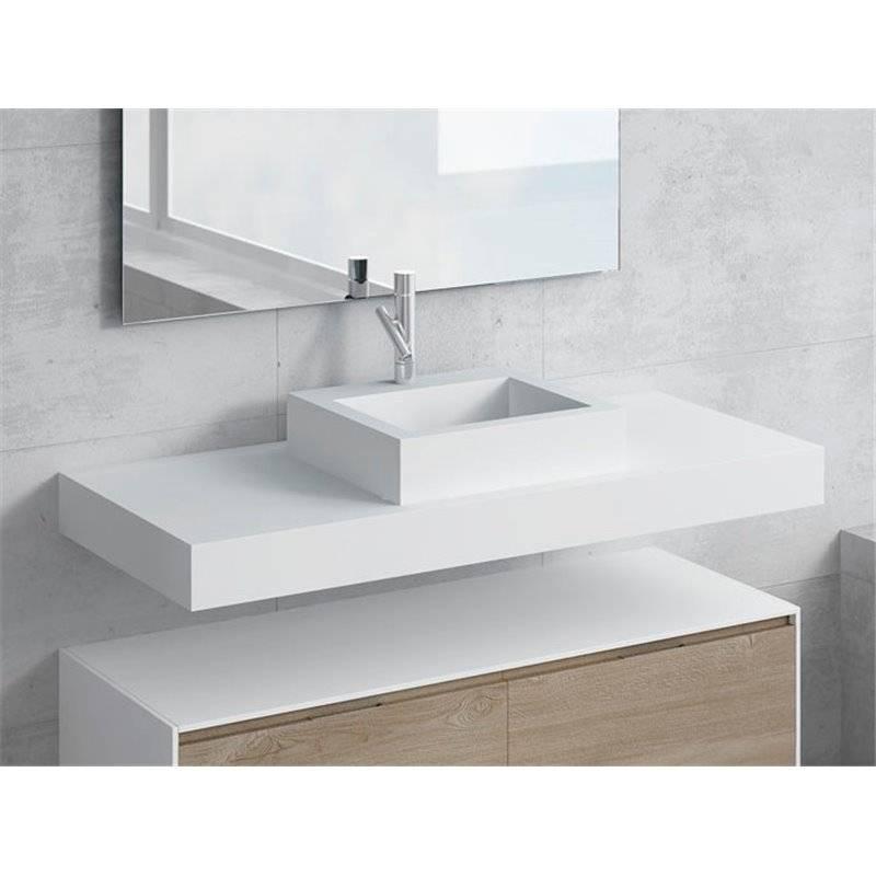 Conjunto encimera+lavabo GALATEA NATUGAMA