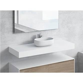 Conjunto encimera+lavabo NEREIDA NATUGAMA