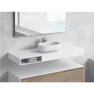 Conjunto encimera+lavabo NEREIDA cajón NATUGAMA