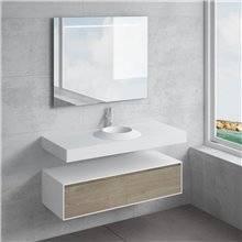Conjunto encimera+lavabo CORUS NATUGAMA