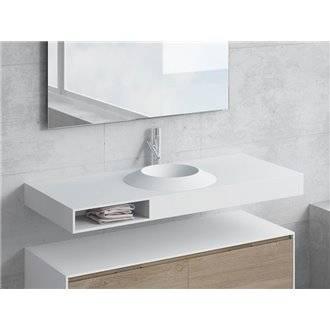 Conjunto encimera+lavabo CORUS cajón NATUGAMA
