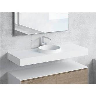 Conjunto encimera+lavabo JUNO NATUGAMA