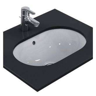 Lavabo bajo encimera ovalado 55 CONNECT Ideal Standard