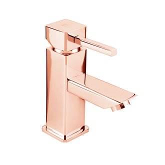Grifo monomando para lavabo oro rosa Catral