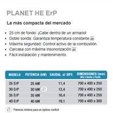 Caldera a gas Planet HE 25 SIME