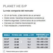Caldera a gas Planet HE 30 SIME