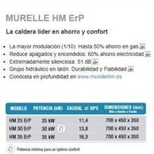 Caldera a gas Murelle HM 35 SIME