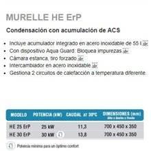 Caldera a gas Murelle HE 25/55 SIME