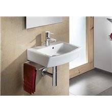 Lavabo mural edelweiss Hall 55x48,5cm Roca
