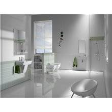 Lavabo mural edelweiss Hall 50x25cm Roca
