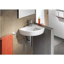 Lavabo mural edelweiss Hall 35x43cm izda Roca
