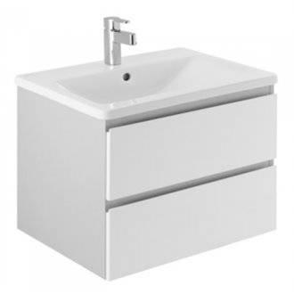 Mueble LOOK 63x47cm gris y blanco Unisan