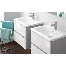 Mueble encimera 63x36cm modelo gris y blanco LOOK Unisan