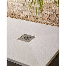 Plato de ducha rectangular blanco ANNA D-40