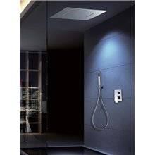 Kit de ducha termostático 4 vías TRES x2 Cascada