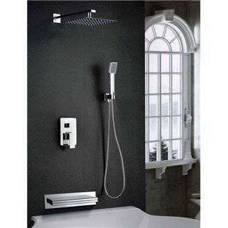 Conjunto de bañera-ducha Imex Java