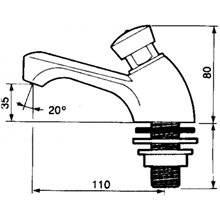 Grifo lavabo PRESTO 605