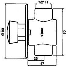 Grifo urinario PRESTO 27