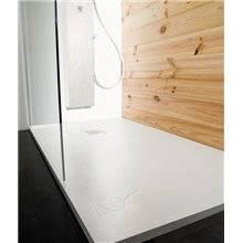 Plato de ducha Natural Pizarra Blanca - b10