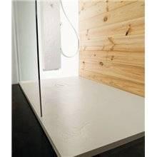 Plato de ducha Natural Pizarra Gris Perla b10