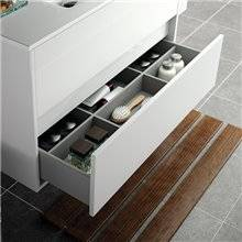 Mueble doble 120cm Gris SALGAR ARENYS