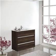 Mueble con lavabo Roble Evasión Imperia TEGLER