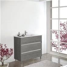 Mueble con lavabo Roble Smoky Imperia TEGLER