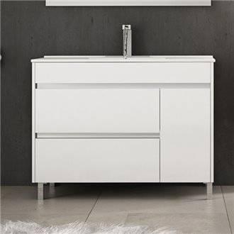 Mueble con lavabo Blanco brillo Caprera TEGLER