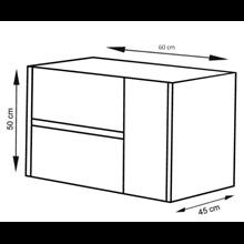 Mueble con lavabo Blanco brillo Ítaca TEGLER