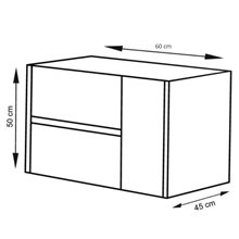 Mueble con lavabo 60 Roble Evasión Ítaca TEGLER
