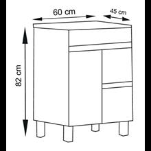 Mueble Blanco brillo Ísquia TEGLER