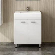 Mueble con lavabo Blanco brillo ECO TEGLER