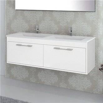 Mueble con lavabo Blanco brillo Florencia TEGLER
