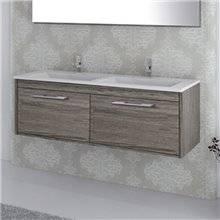 Mueble con lavabo Roble Smoky Florencia TEGLER