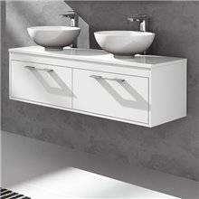 Mueble con encimera Blanco brillo Florencia TEGLER