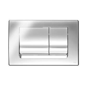Placa pulsadora Ria cromo brillo OLI