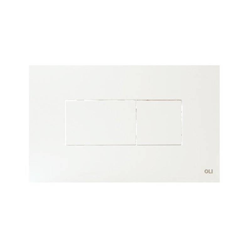 Placa pulsadora Karisma blanco OLI