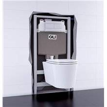 Cisterna empotrada OLI74 PLUS Sanitarblock Autoportante Hidroboost