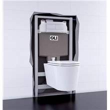 Cisterna empotrada OLI74 PLUS Sanitarblock Autoportante Mecánico