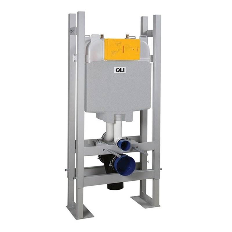 Cisterna empotrada OLI74 PLUS Autoportante Doble Mecánico